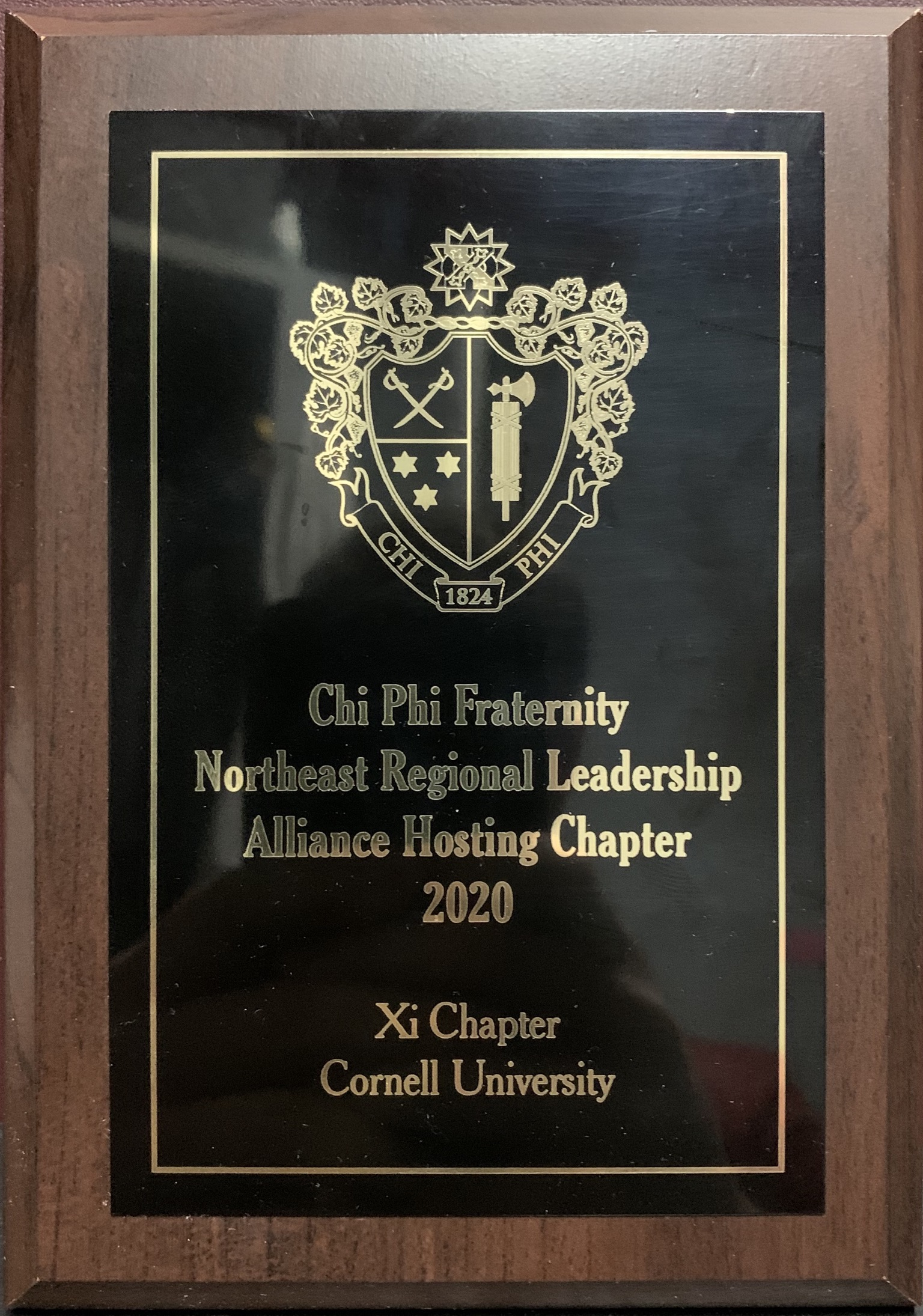 Chi Phi Cornell hosted the National Regional Leadership Alliance (RLA). The weekend went very well. The active brothers received additional presentations from the ex Grand alpha as well as a risk presentation from the national Associate Director of Risk Management. The Xi Chapter received a plaque for hosting.